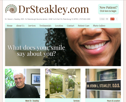 Dr. Steven Steakley, DDS - St. Petersburg, Florida